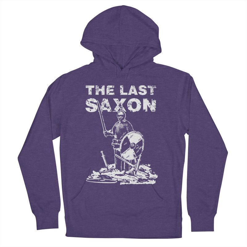 Last Saxon Men's Pullover Hoody by Designs by Quicky