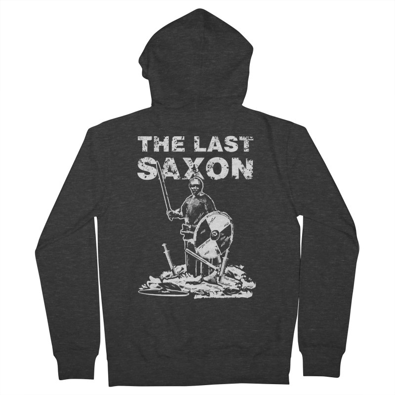 Last Saxon Women's Zip-Up Hoody by Designs by Quicky