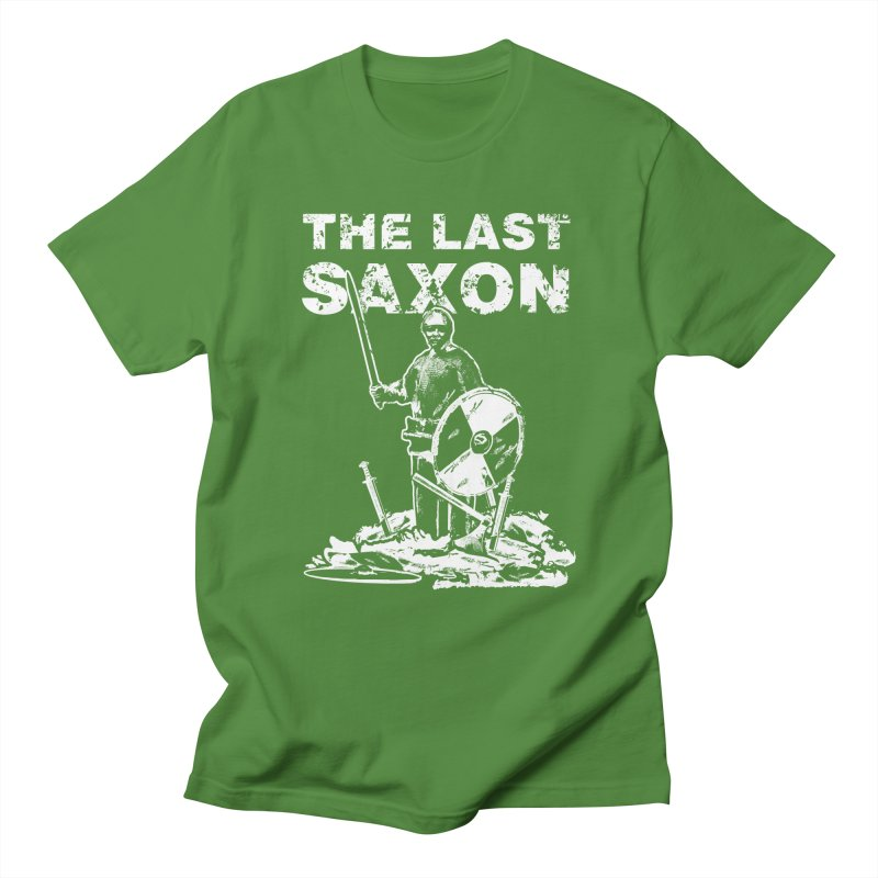 Last Saxon Men's T-Shirt by Designs by Quicky