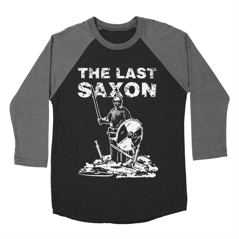 Last Saxon Men's Baseball Triblend T-Shirt by Designs by Quicky