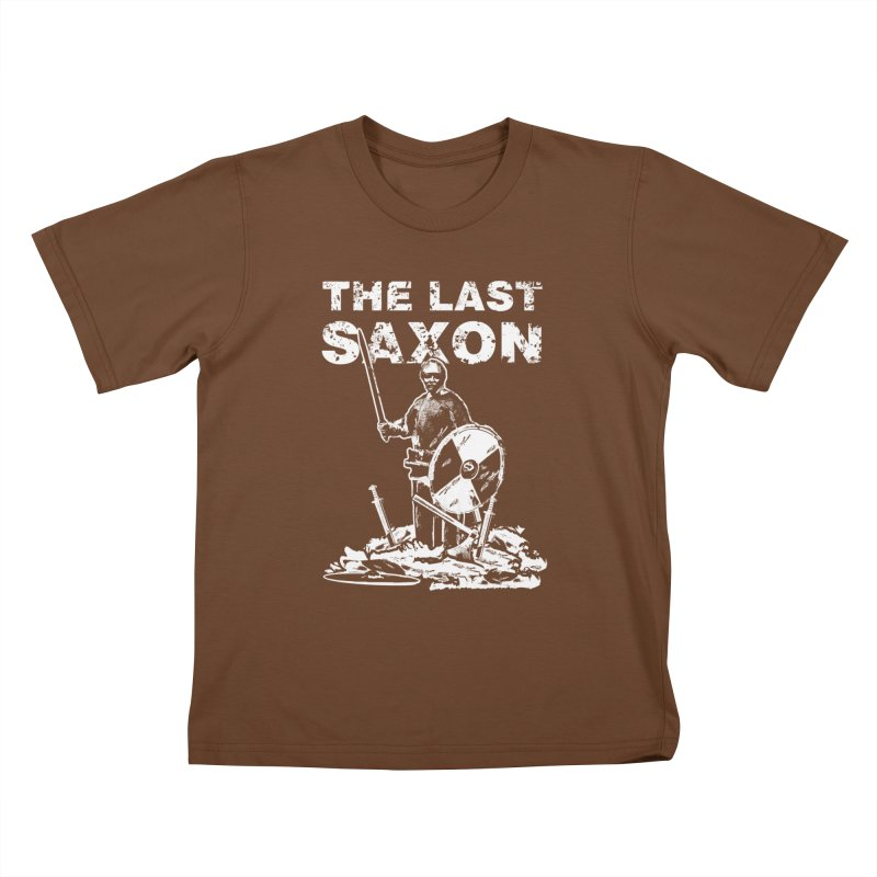 Last Saxon Kids T-Shirt by Designs by Quicky