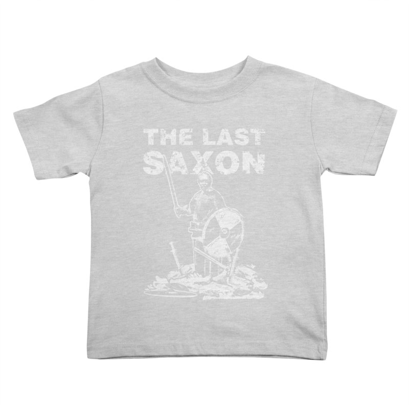 Last Saxon Kids Toddler T-Shirt by Designs by Quicky