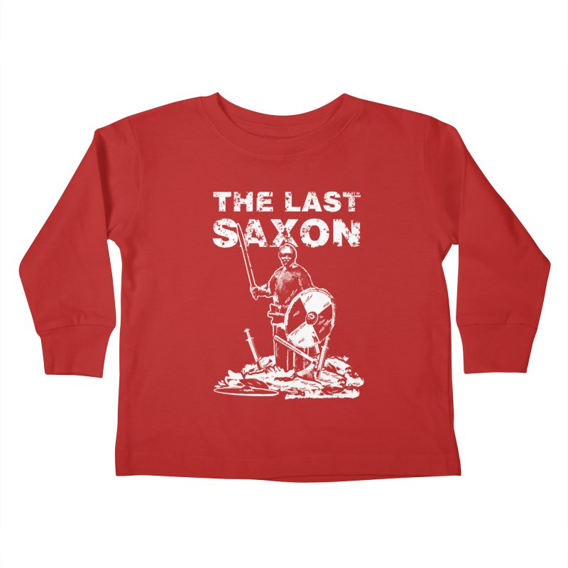 Last Saxon Kids Toddler Longsleeve T-Shirt by Designs by Quicky