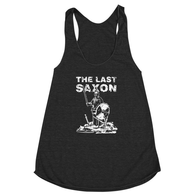 Last Saxon Women's Racerback Triblend Tank by Designs by Quicky