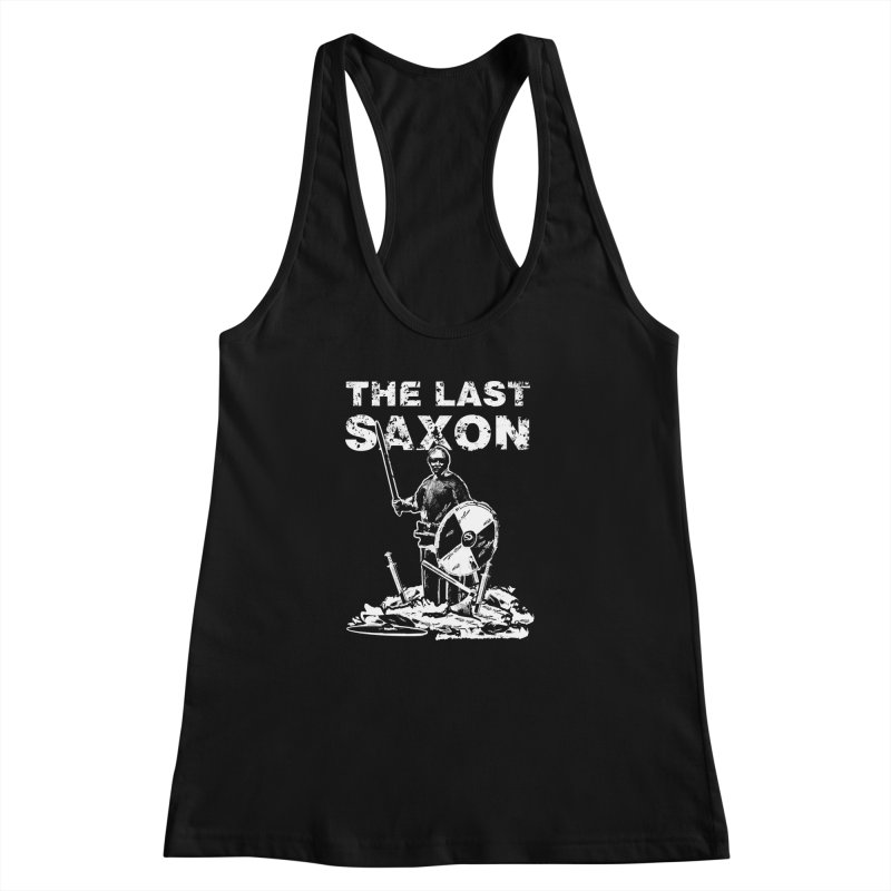 Last Saxon Women's Racerback Tank by Designs by Quicky