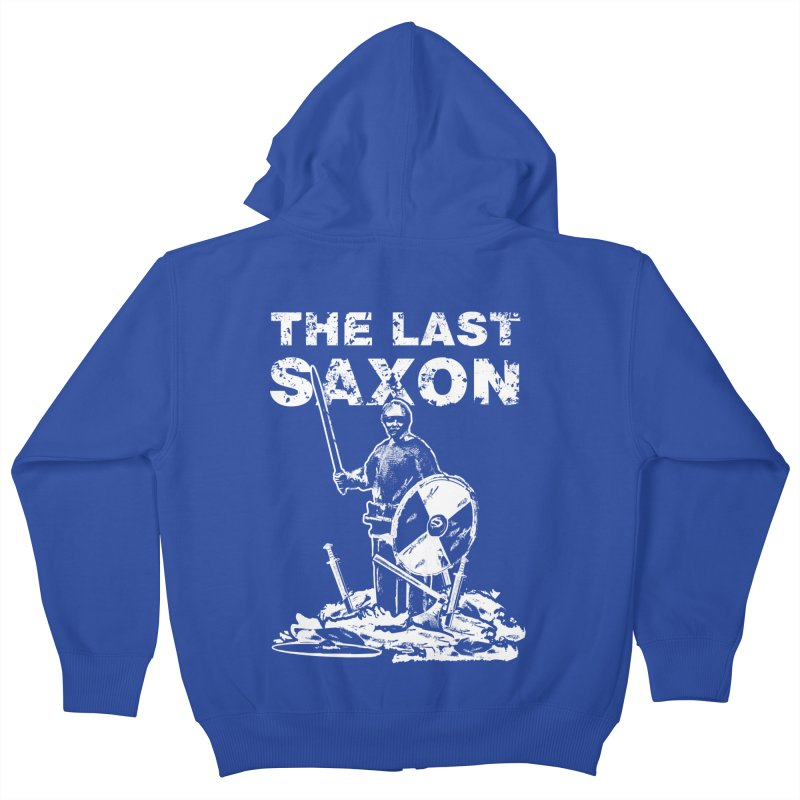 Last Saxon Kids Zip-Up Hoody by Designs by Quicky