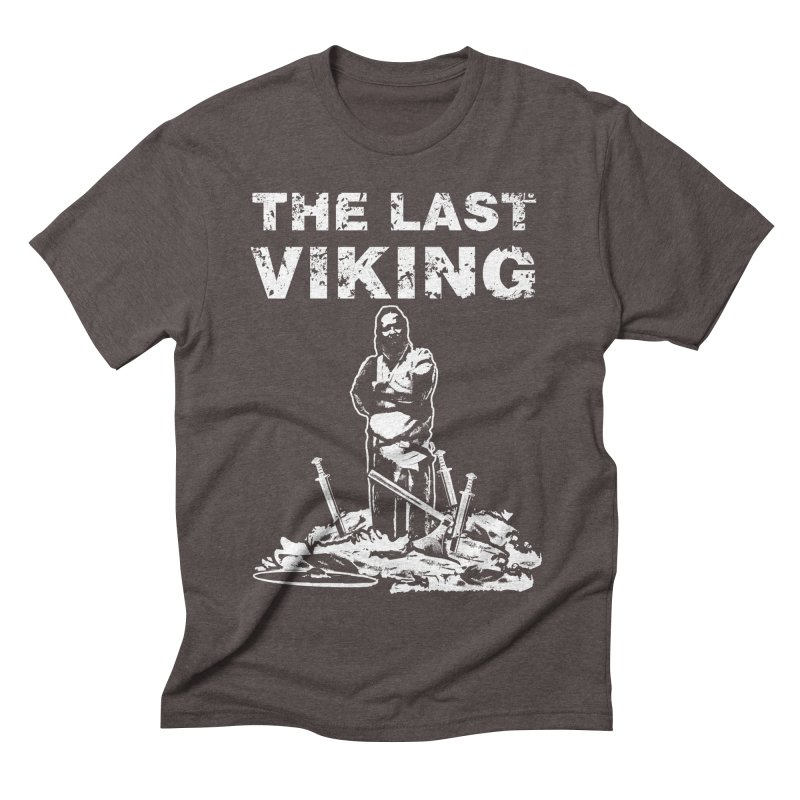 Last Viking Men's Triblend T-shirt by Designs by Quicky