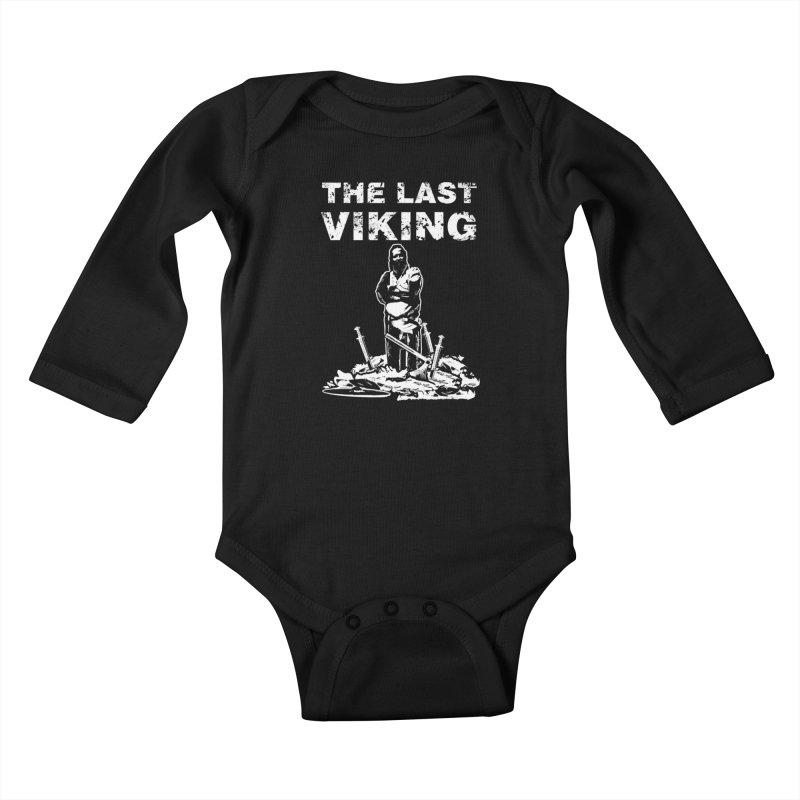 Last Viking Kids Baby Longsleeve Bodysuit by Designs by Quicky
