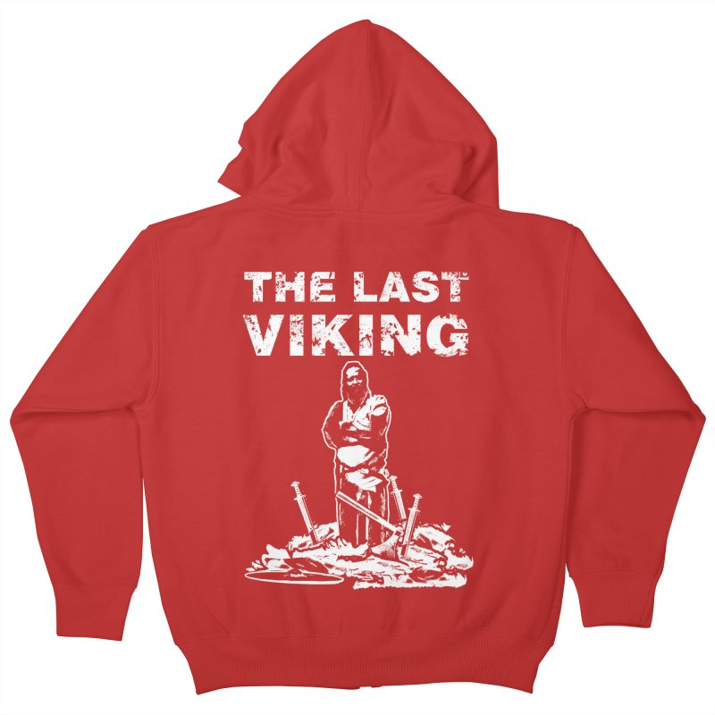 Last Viking Kids Zip-Up Hoody by Designs by Quicky