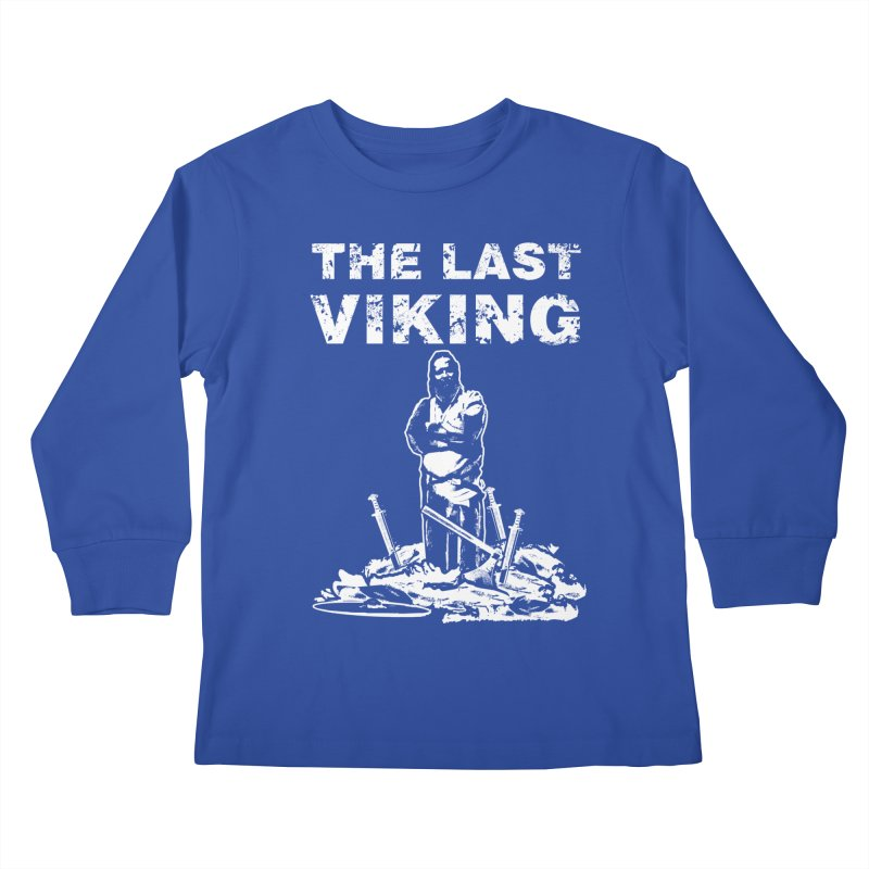 Last Viking Kids Longsleeve T-Shirt by Designs by Quicky