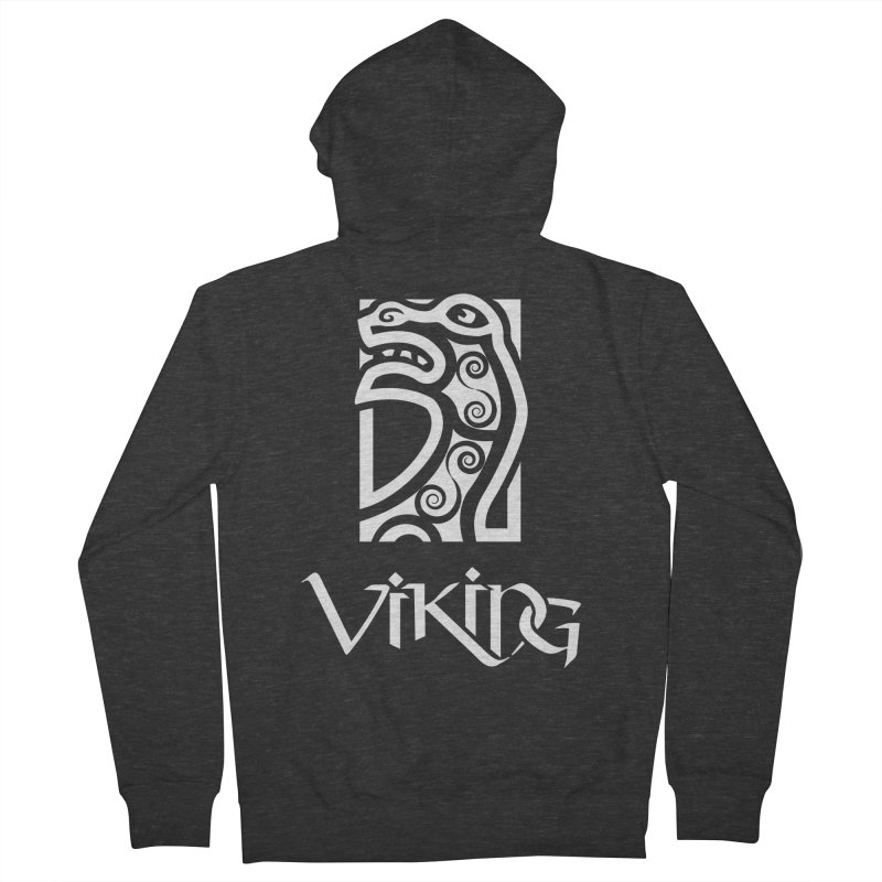 Viking Figurehead Women's Zip-Up Hoody by Designs by Quicky
