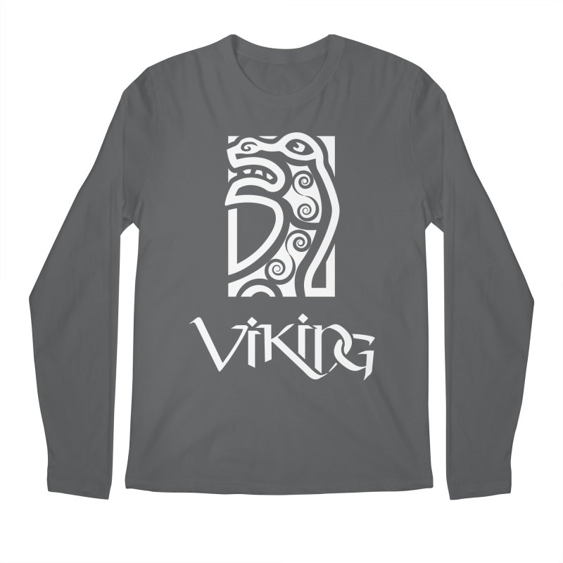 Viking Figurehead Men's Longsleeve T-Shirt by Designs by Quicky