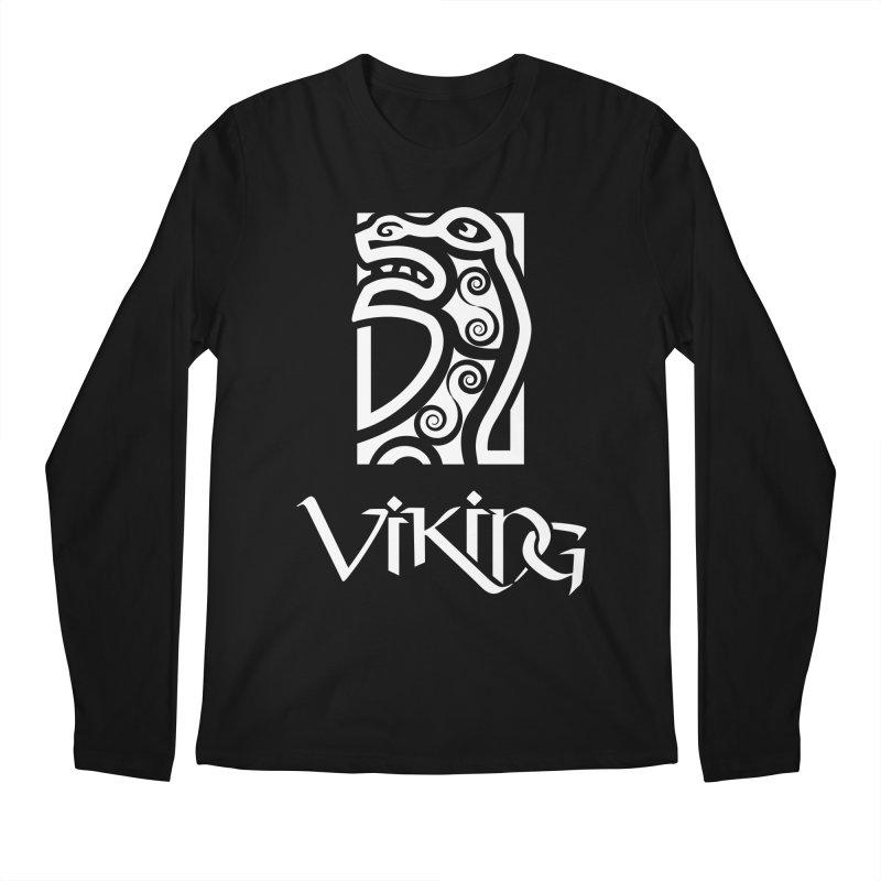 Viking Figurehead Men's Longsleeve T-Shirt by Designs by Quicky