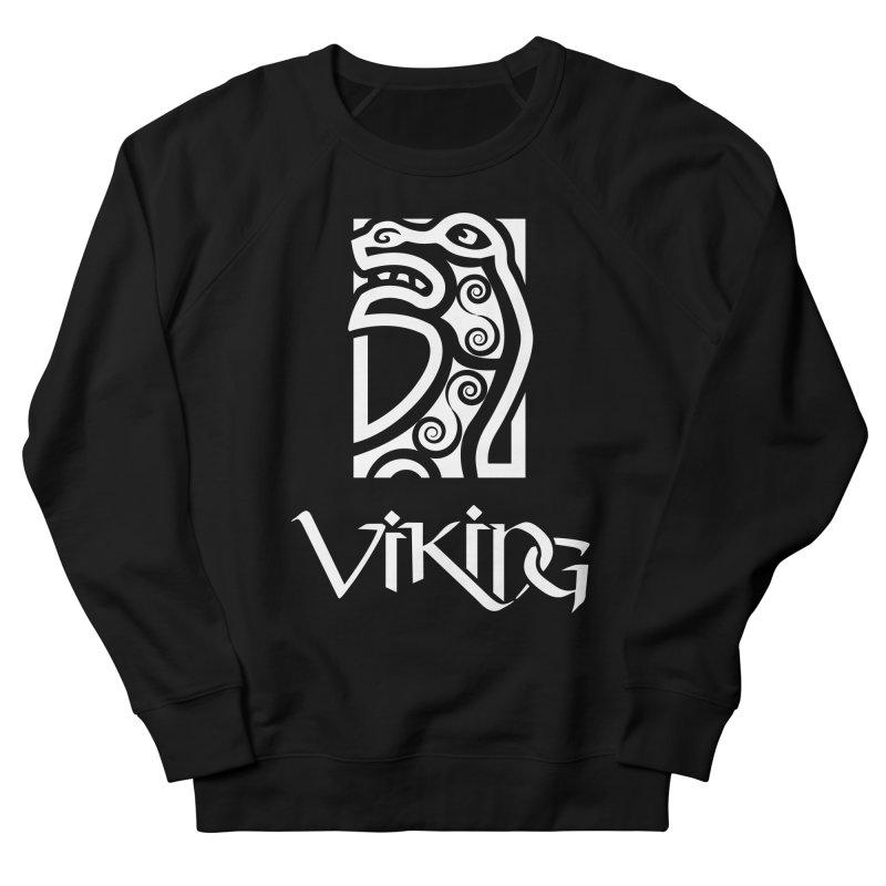 Viking Figurehead Men's Sweatshirt by Designs by Quicky