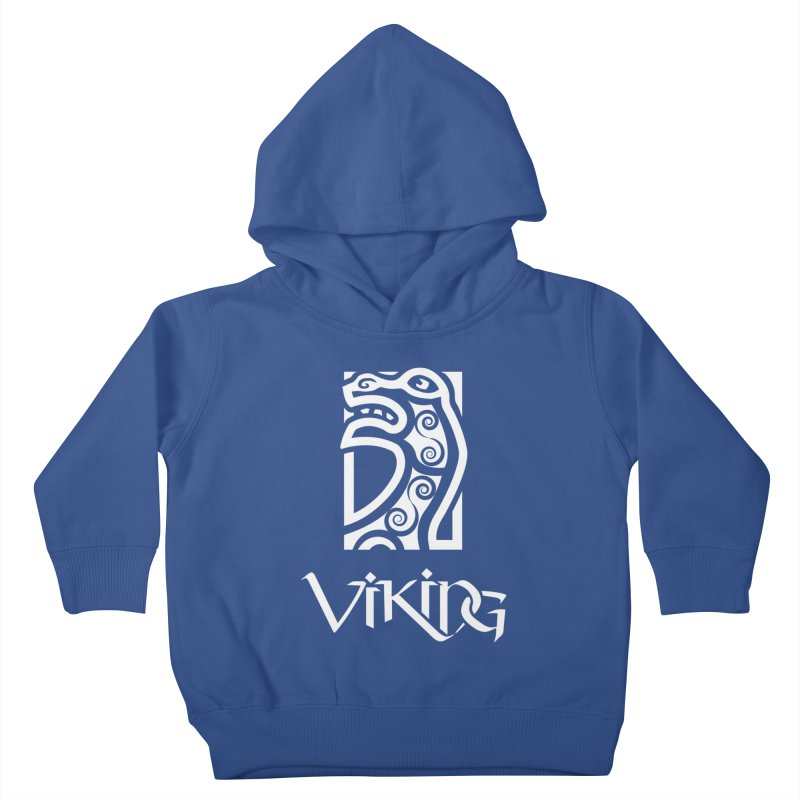 Viking Figurehead Kids Toddler Pullover Hoody by Designs by Quicky