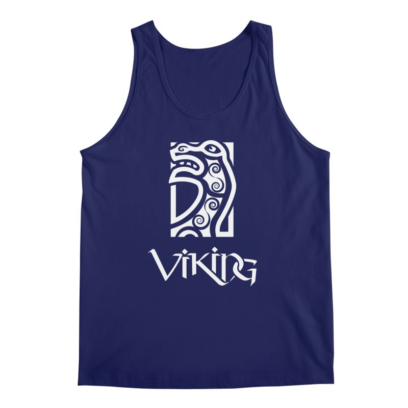 Viking Figurehead Men's Tank by Designs by Quicky