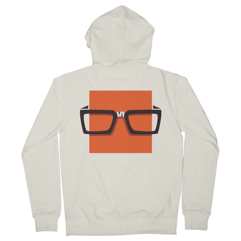 SQUARE Men's Zip-Up Hoody by quietcity's Artist Shop