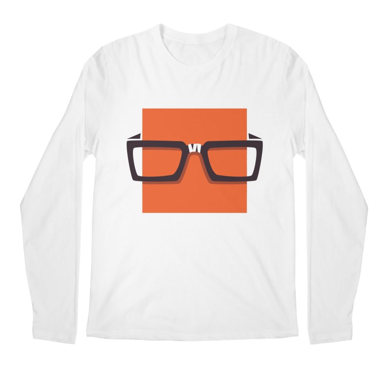 SQUARE Men's Longsleeve T-Shirt by quietcity's Artist Shop