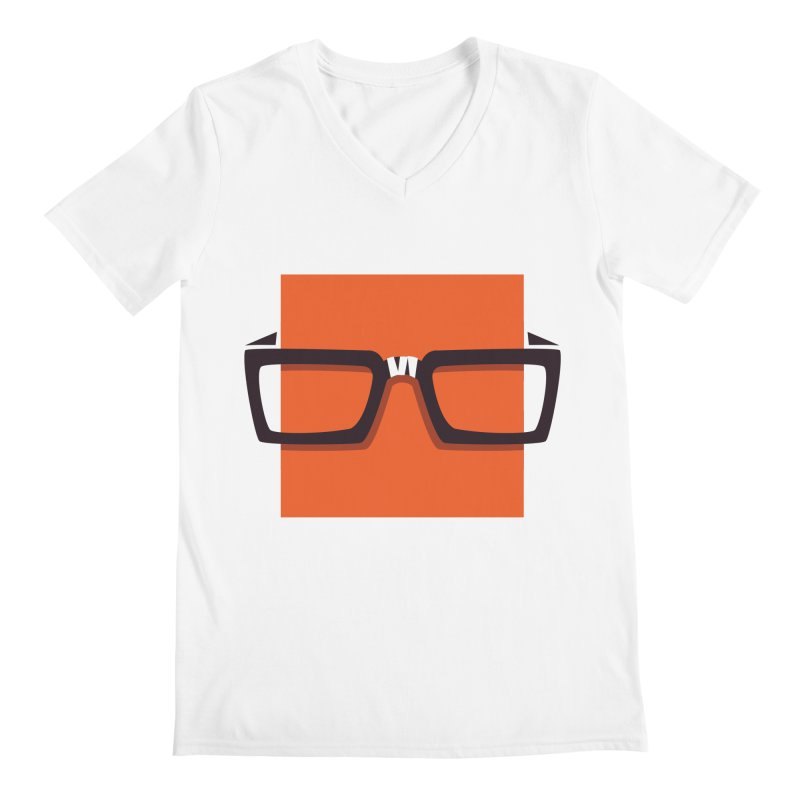 SQUARE Men's V-Neck by quietcity's Artist Shop