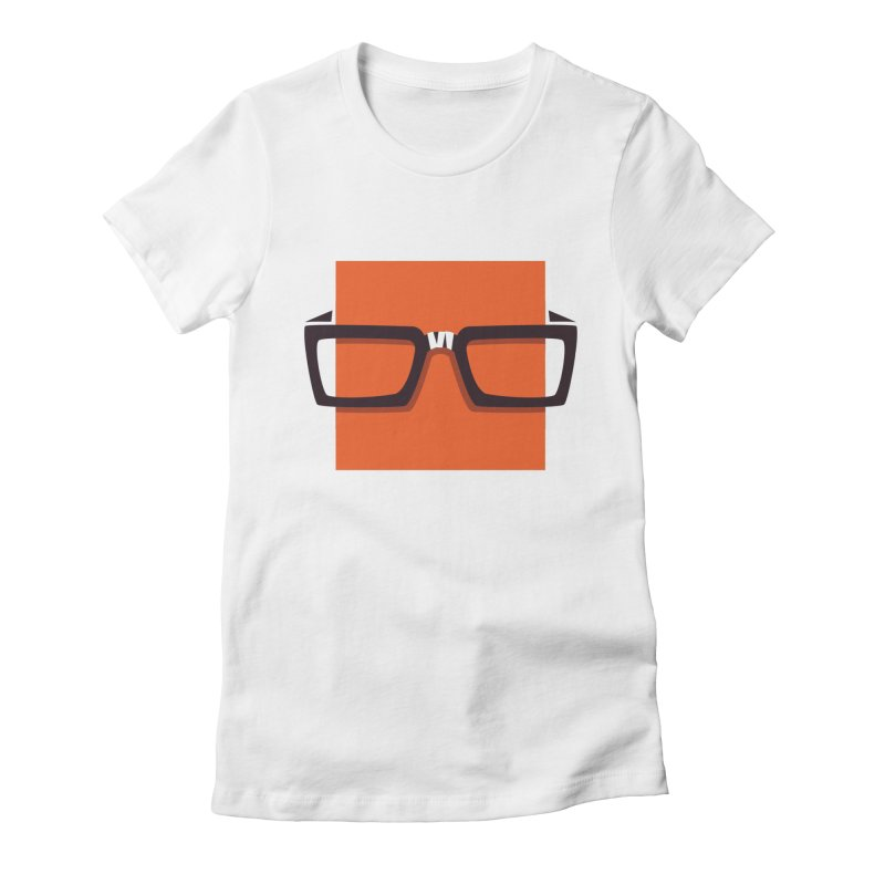 SQUARE Women's Fitted T-Shirt by quietcity's Artist Shop