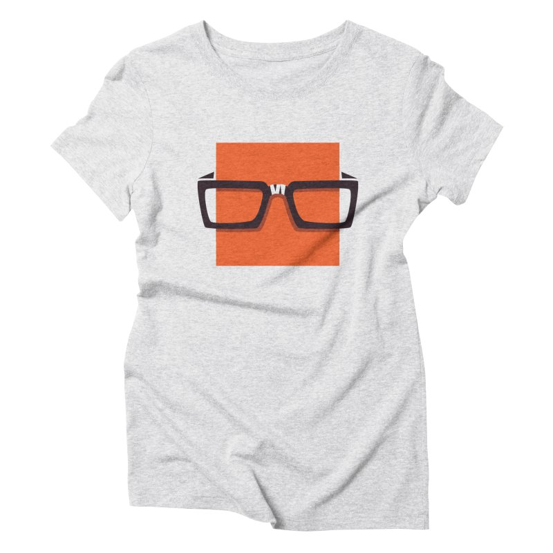 SQUARE Women's Triblend T-shirt by quietcity's Artist Shop