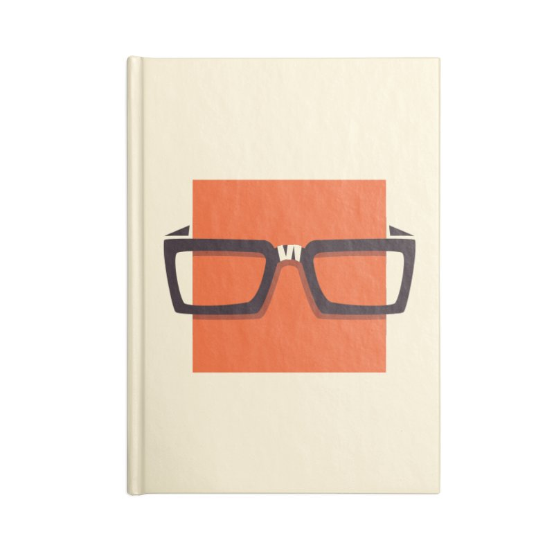 SQUARE Accessories Notebook by quietcity's Artist Shop