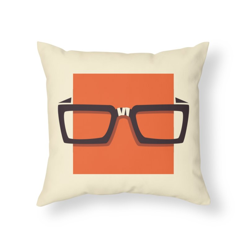 SQUARE Home Throw Pillow by quietcity's Artist Shop