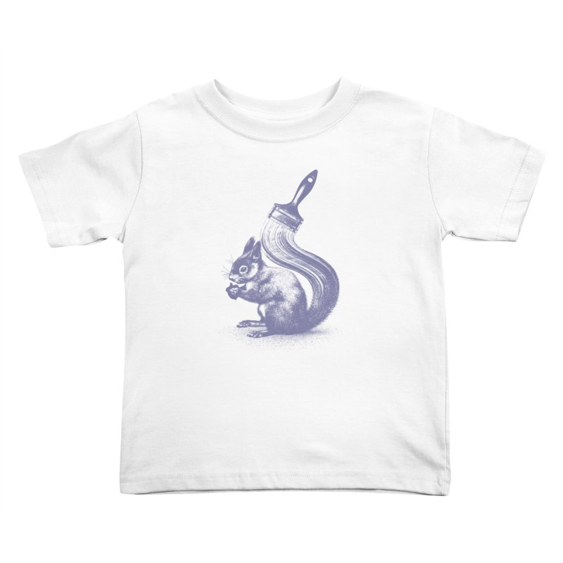 Brush-tailed Kids Toddler T-Shirt by quietcity's Artist Shop