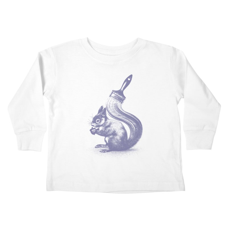 Brush-tailed Kids Toddler Longsleeve T-Shirt by quietcity's Artist Shop