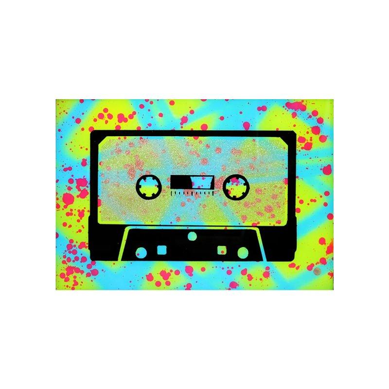 cassette by Jared Haberman Men's T-Shirt by Quiet Pterodactyl Shop