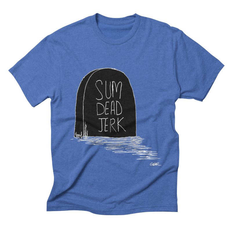 SDJB by Michael Gary Goldberger Men's T-Shirt by Quiet Pterodactyl Shop