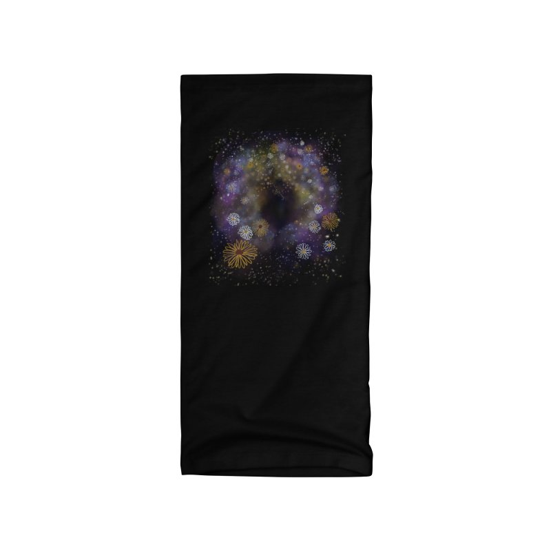 Flower Hole by Ollam Accessories Neck Gaiter by Quiet Pterodactyl Shop