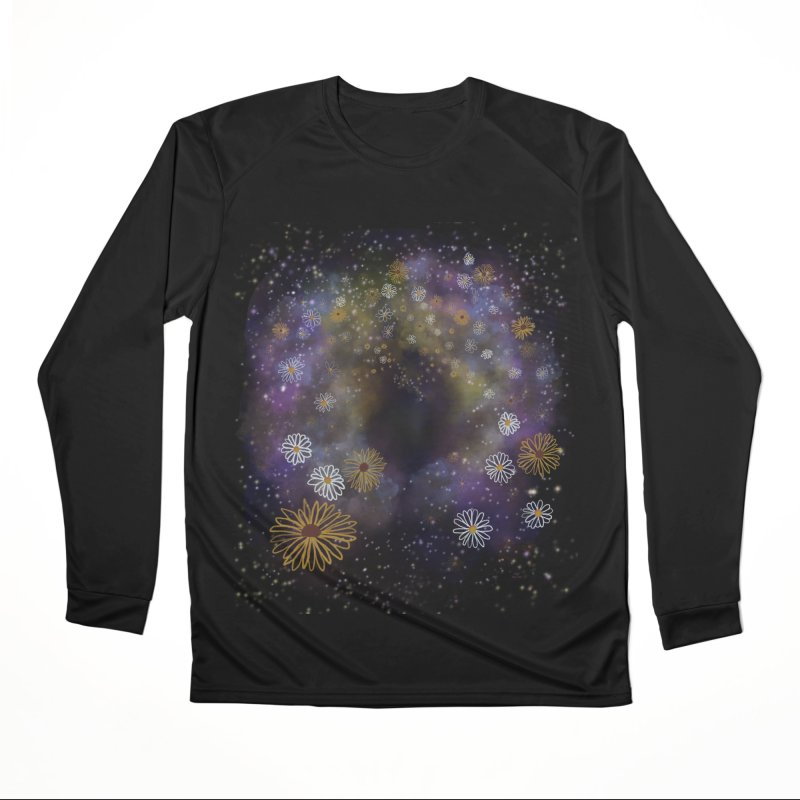 Flower Hole by Ollam Men's Longsleeve T-Shirt by Quiet Pterodactyl Shop