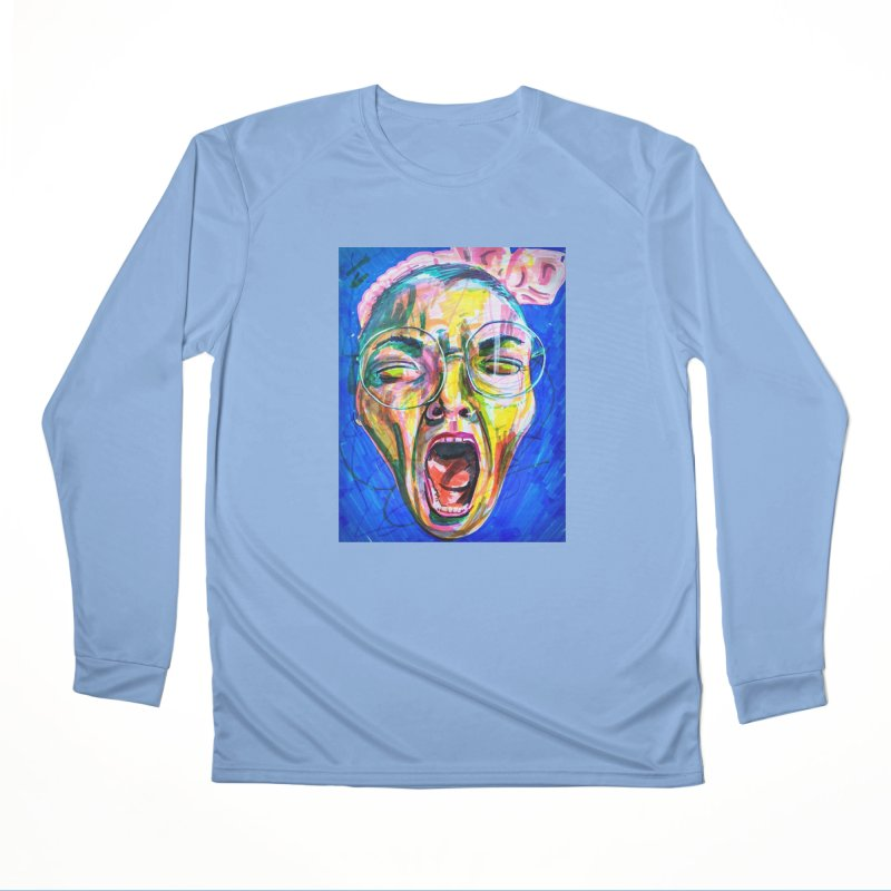 All Portraits are Self Portraits 3 by Danielle Pontarelli Men's Longsleeve T-Shirt by Quiet Pterodactyl Shop