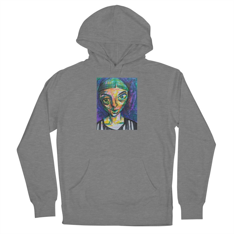 All Portraits are Self Portraits 1 by  Danielle Pontarelli Women's Pullover Hoody by Quiet Pterodactyl Shop