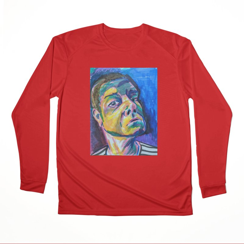 All Portraits are Self Portraits 2 by Danielle Pontarelli Men's Longsleeve T-Shirt by Quiet Pterodactyl Shop