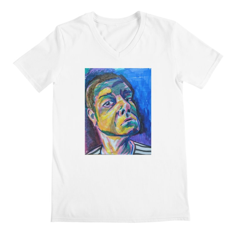 All Portraits are Self Portraits 2 by Danielle Pontarelli Men's V-Neck by Quiet Pterodactyl Shop