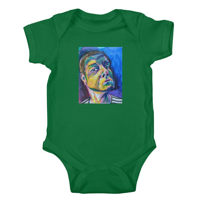 All Portraits are Self Portraits 2 by Danielle Pontarelli Kids Baby Bodysuit by Quiet Pterodactyl Shop