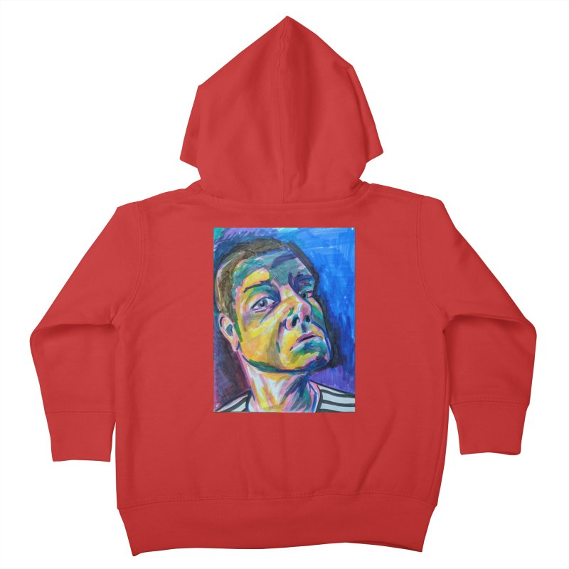 All Portraits are Self Portraits 2 by Danielle Pontarelli Kids Toddler Zip-Up Hoody by Quiet Pterodactyl Shop