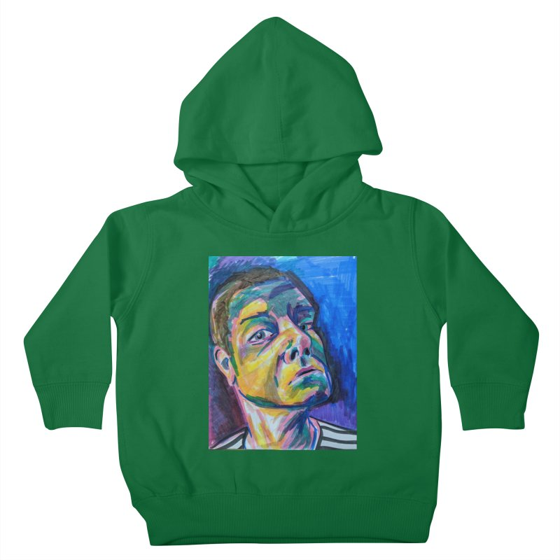 All Portraits are Self Portraits 2 by Danielle Pontarelli Kids Toddler Pullover Hoody by Quiet Pterodactyl Shop
