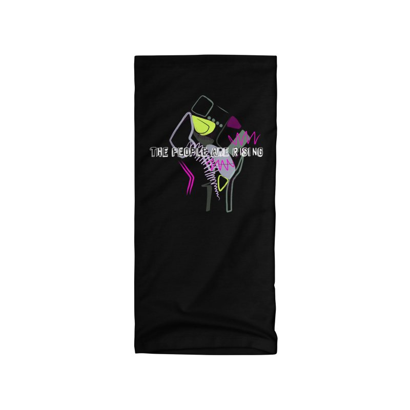 The People Are Rising by Britni Mara Accessories Neck Gaiter by Quiet Pterodactyl Shop