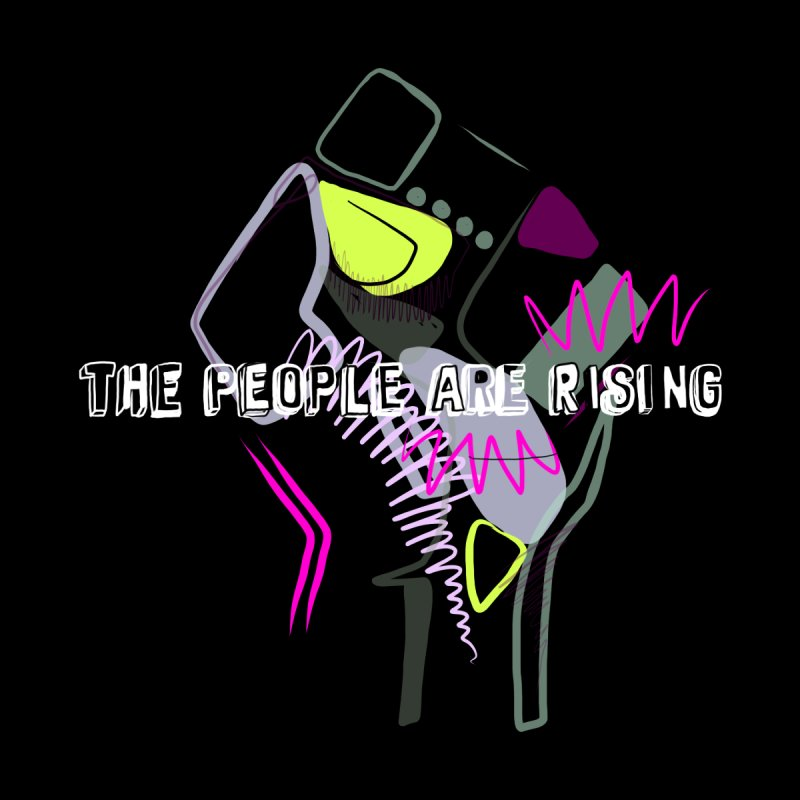 The People Are Rising by Britni Mara Men's T-Shirt by Quiet Pterodactyl Shop