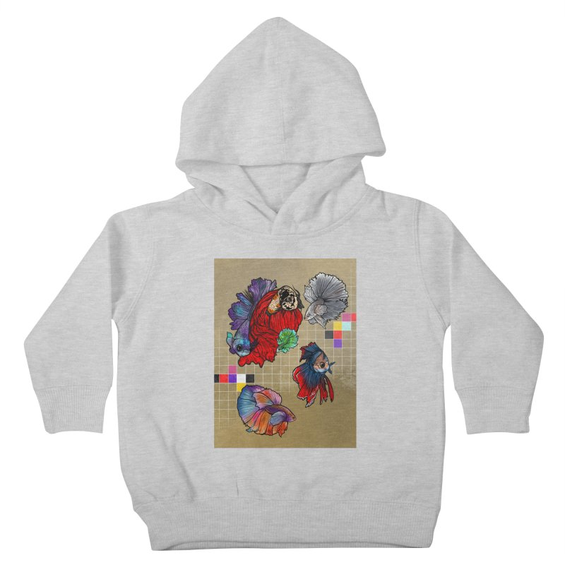 You Need Beta Friends by JazOnVinyl Kids Toddler Pullover Hoody by Quiet Pterodactyl Shop