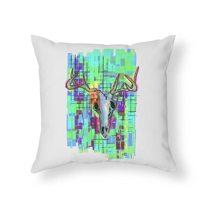 """Untitled"" by Steve Nolan Home Throw Pillow by Quiet Pterodactyl Shop"