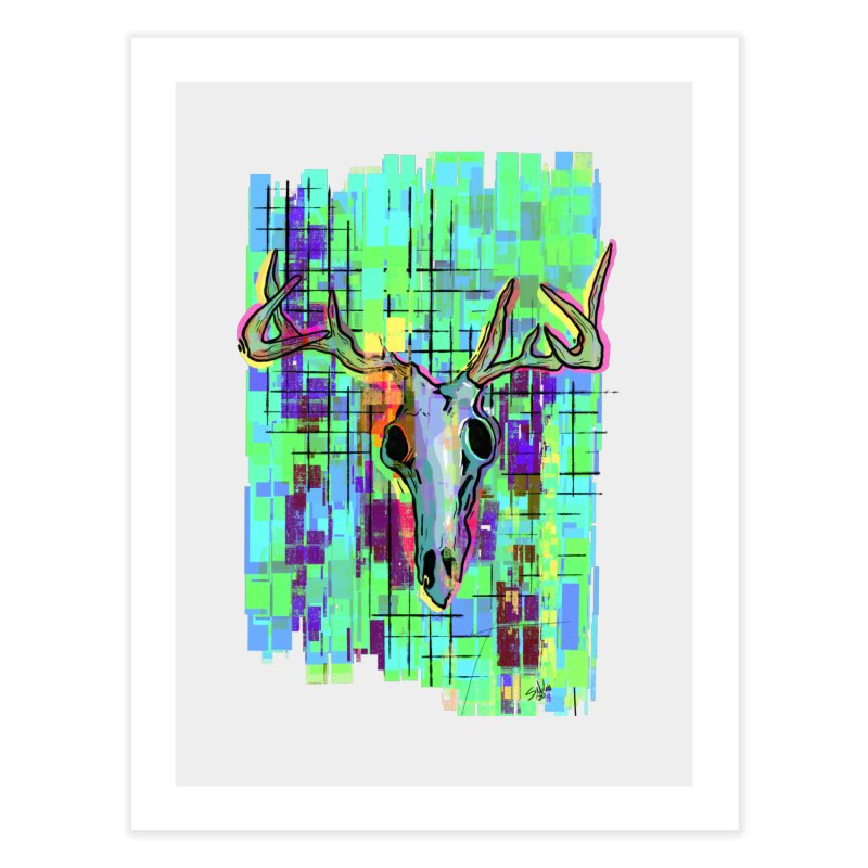 """""""Untitled"""" by Steve Nolan Home Fine Art Print by Quiet Pterodactyl Shop"""