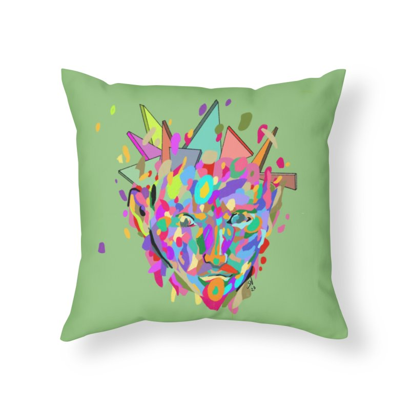 """""""Untitled"""" by Steve Nolan Home Throw Pillow by Quiet Pterodactyl Shop"""