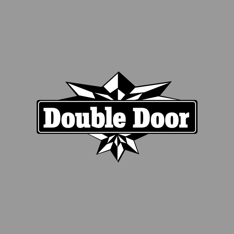 Double Door logo B&W - Sales EXTENDED! Women's Sweatshirt by Quiet Pterodactyl Shop
