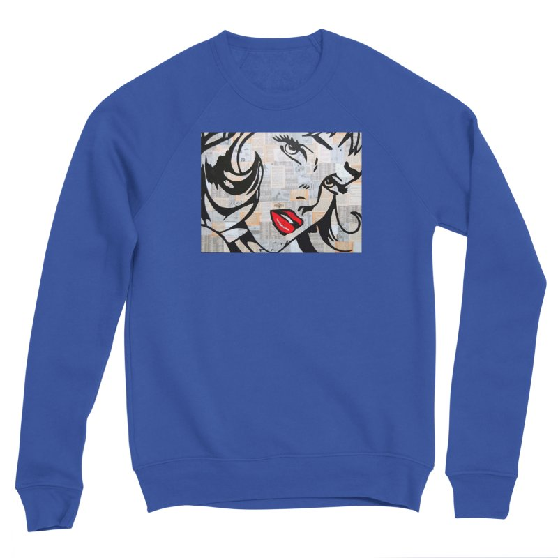 Woman 3 by Jared Haberman Women's Sweatshirt by Quiet Pterodactyl Shop