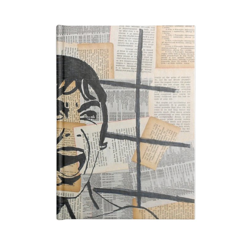 Psycho 16 by Jared Haberman Accessories Notebook by Quiet Pterodactyl Shop