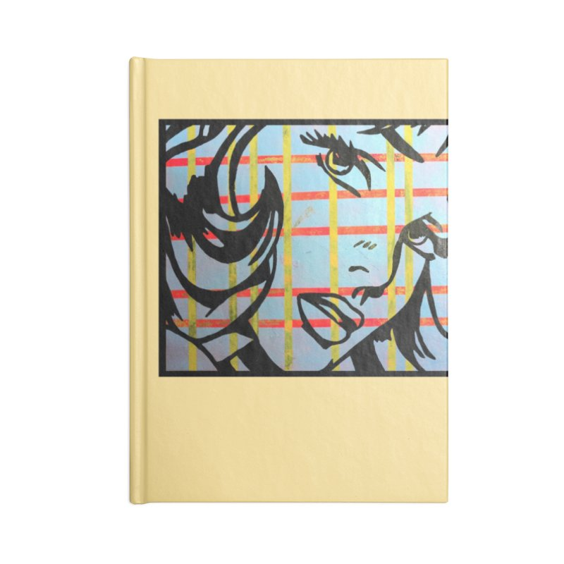 Woman 51 by Jared Haberman Accessories Notebook by Quiet Pterodactyl Shop